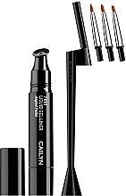 Духи, Парфюмерия, косметика Набор - Cailyn 7in1 Liquid Gel Liner Black (liner/3ml + brush)