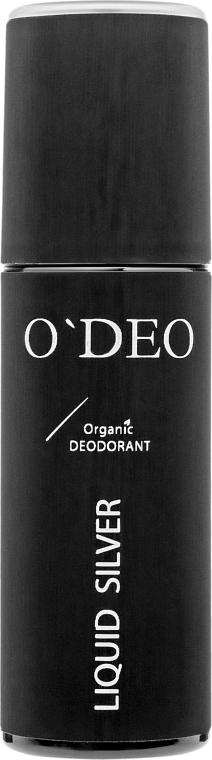 Органический дезодорант для мужчин - O'Deo Organic DEOdorant For Men Liquid Silver