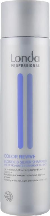 Шампунь для светлых оттенков волос - Londa Professional Color Revive Blonde & Silver Shampoo