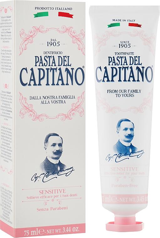 Зубная паста для чувствительных зубов - Pasta Del Capitano Premium Sensitive