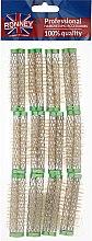 Духи, Парфюмерия, косметика Бигуди 15/63 мм, зеленые - Ronney Professional Wire Curlers