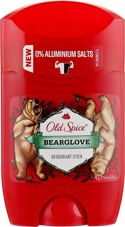 Твердый дезодорант - Old Spice Bearglove Deodorant Stick