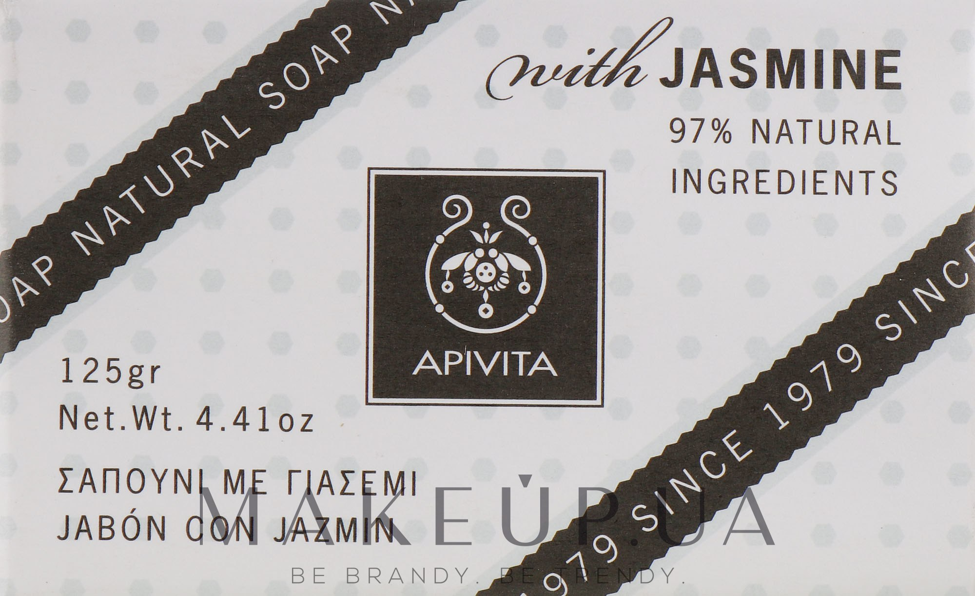 "Мыло ""Жасмин"" - Apivita Soap with Jasmine — фото 125g"
