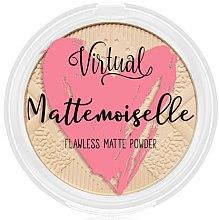 Духи, Парфюмерия, косметика Матирующая пудра для лица - Virtual Mattemoiselle Flawless Matte Powder