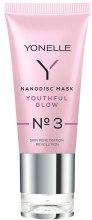Духи, Парфюмерия, косметика Освежающая интенсивная гелевая маска N3 - Yonelle Nanodisc Mask Youthful Glow N3