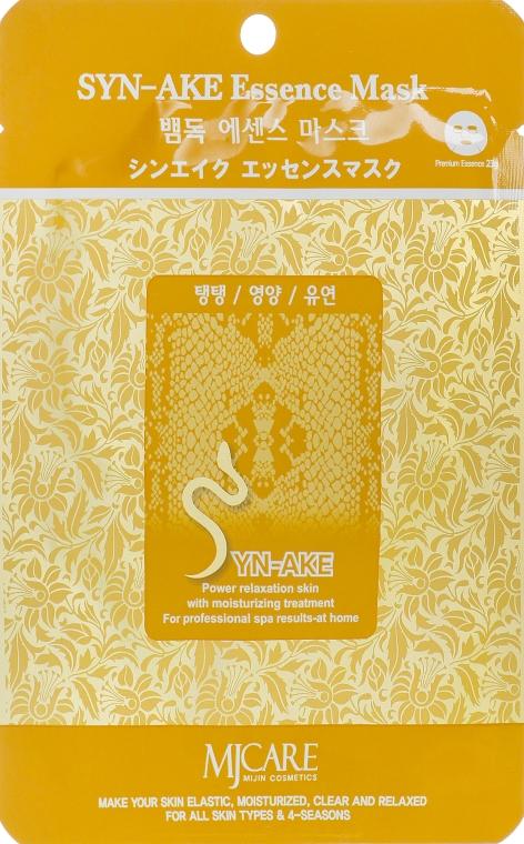 Тканевая маска со змеиным ядом - MJ Care Syn-Ake Essence Mask