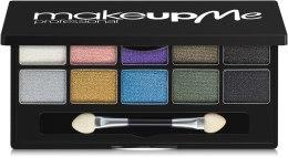 Духи, Парфюмерия, косметика Профессиональная палитра теней 10 цветов, - Make Up Me