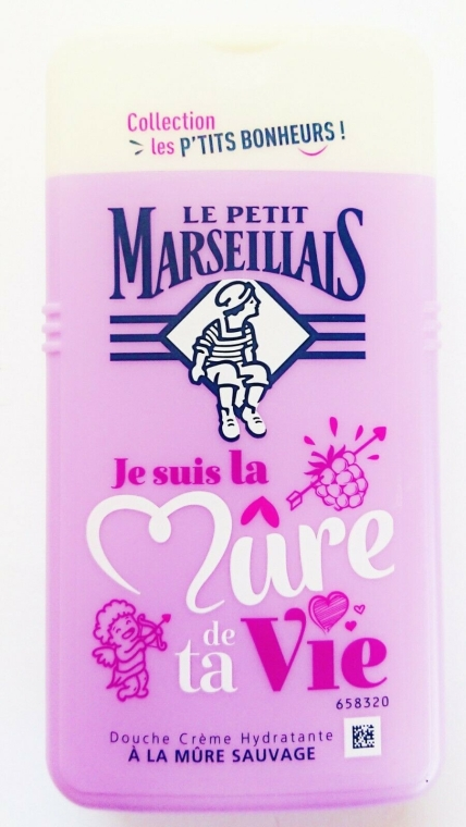 "Гель для душа ""Ежевика"" - Le Petit Marseillais Blackberry Shower Gel"