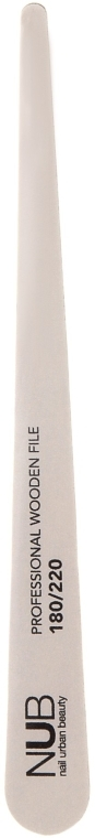 Пилка для натуральных ногтей, 180/220 - NUB