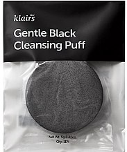 Духи, Парфюмерия, косметика Спонж для умывания - Klairs Gentle Black Cleansing Puff