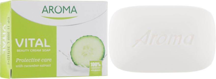 Защитное крем-мыло - Aroma Vital Protective Beauty Cream Soap