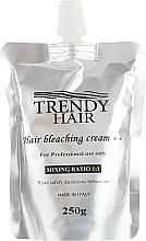 Духи, Парфюмерия, косметика Блонд-крем для обесвечивания волос белый - Trendy Hair Bleaching Cream++