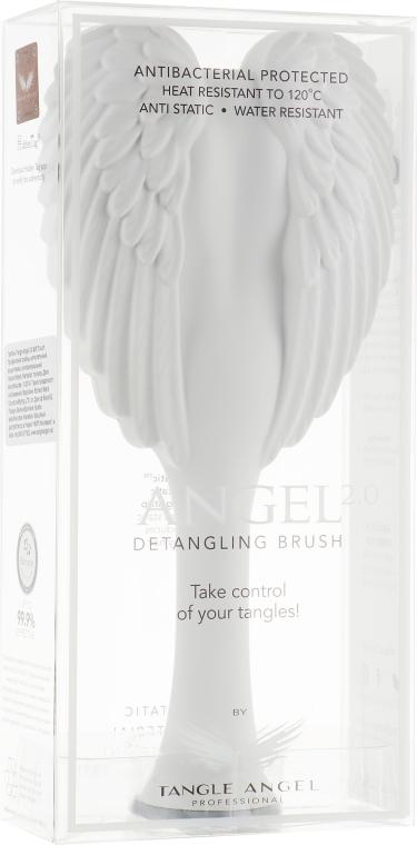 Расческа для волос - Tangle Angel 2.0 Detangling Brush White/Grey