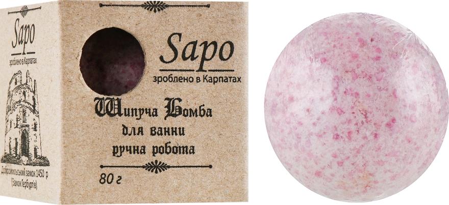 """Шипучая бомба для ванны """"Лаванда"""" - Sapo"""