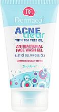 Духи, Парфюмерия, косметика Гель для умывания антибактериальный - Dermacol Acne Clear Antibacterial Face Wash Gel