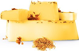 Духи, Парфюмерия, косметика Натуральное аргановое мыло ручной работы с календулой, глицериновое - E-Fiore Natural Soap Argan Oil With Calendula