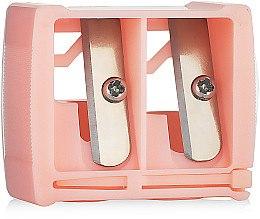 Духи, Парфюмерия, косметика Точилка косметическая двойная 9198, розовая - SPL