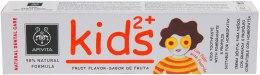 Духи, Парфюмерия, косметика Детская зубная паста с гранатом и прополисом - Apivita Healthcare Natural Dental Care Kids 2+ Kids Toothpaste With Pomegranate & Propolis