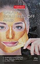 "Духи, Парфюмерия, косметика Маска-пилинг для лица ""Золотая"" - Purederm Galaxy Gold Peel-Off Mask"