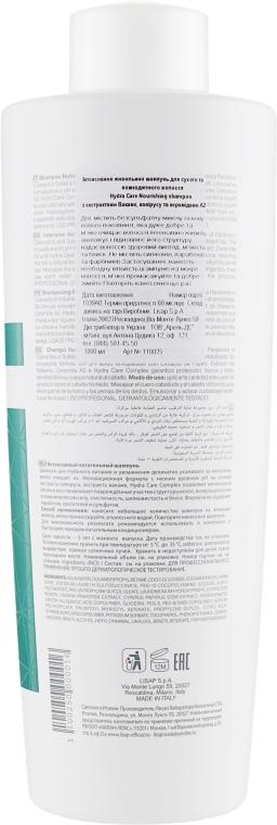 Интенсивный питающий шампунь - Lisap Top Care Repair Hydra Care Nourishing Shampoo — фото N6