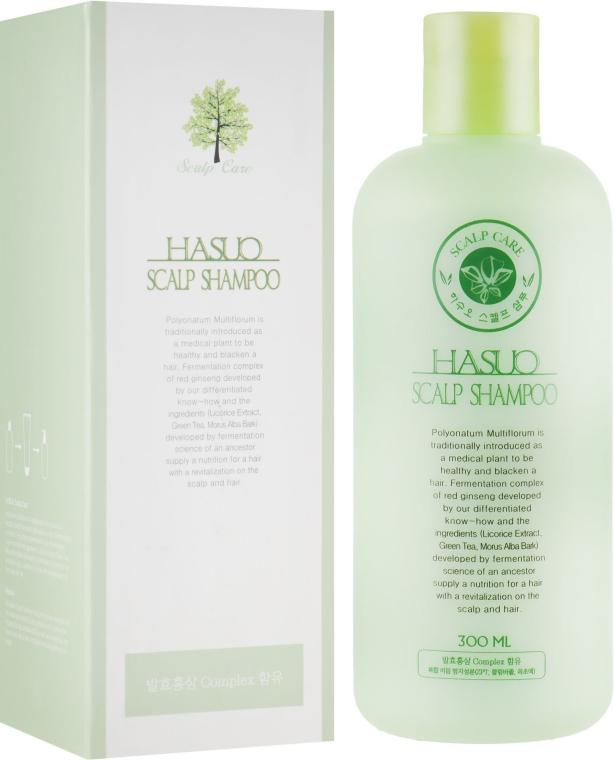 Шампунь от перхоти - PL Cosmetic Hasuo Scalp Shampoo