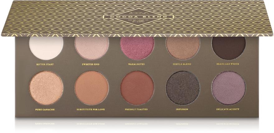 Палетка теней для глаз - Zoeva Cocoa Blend Palette