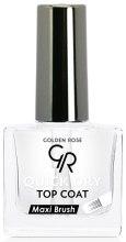 Духи, Парфюмерия, косметика Быстросохнущее верхнее покрытие - Golden Rose Quick Dry Top Coat