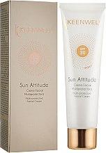 Духи, Парфюмерия, косметика Мультиактивный солнцезащитный крем для лица - Keenwell Sun Care Multi-Protective Facial Cream SPF30