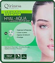 Духи, Парфюмерия, косметика Гиалуроновая увлажняющая и омолаживающая тканевая маска - Qiriness Wrap Hyal-Aqua Hyaluronic Moisture Mask