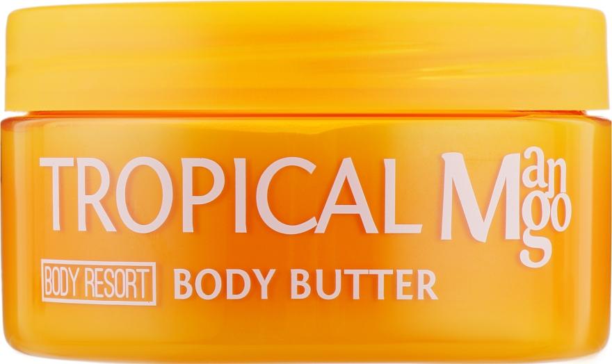 Крем-масло для тела ''Тропическое манго'' - Mades Cosmetics Body Resort Tropical Mango Body Butter