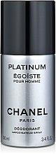 Духи, Парфюмерия, косметика Chanel Egoiste Platinum - Дезодорант