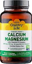 Духи, Парфюмерия, косметика Витаминно-минеральный комплекс кальция, магния и витамина D - Country Life Calcium-Magnesium With Vitamin D