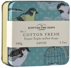 """Духи, Парфюмерия, косметика Мыло """"Чистая свежесть"""" - Scottish Fine Soaps Soap In A Tin"""