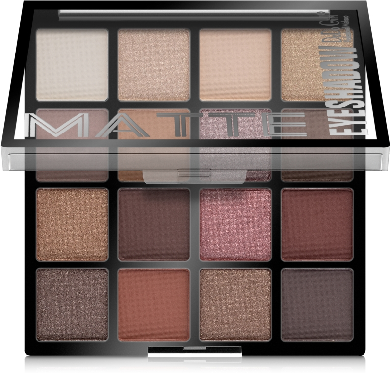 Палетка матовых теней для век - DoDo Girl Matte Eyeshadow Palette