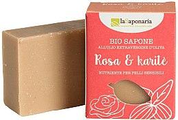 Духи, Парфюмерия, косметика Мыло с маслами розы и ши - La Saponaria Rose & Shea Butter Soap