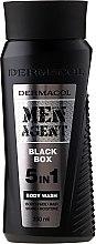 Духи, Парфюмерия, косметика Гель для душа - Dermacol Men Agent Black Box 5in1 Body Wash