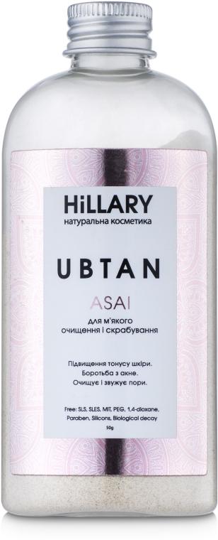 Убтан для мягкого очищения и скрабирования - Hillary Ubtan Asai