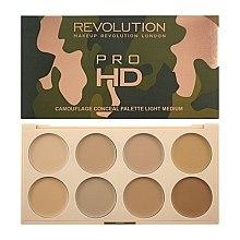 Духи, Парфюмерия, косметика Палетка кремовых корректоров - Makeup Revolution Ultra Pro HD Camouflage