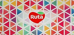 Духи, Парфюмерия, косметика Косметические салфетки 80 шт., разноцветные треугольники - Ruta
