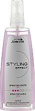 Духи, Парфюмерия, косметика Спрей для укладки вьющихся волос - Joanna Styling Effect Curly Spray
