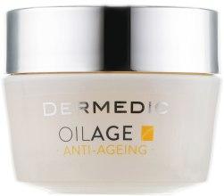 Духи, Парфюмерия, косметика Ночной питательный крем для лица - Dermedic Oilage Repairing Night Cream