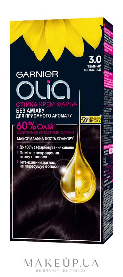 Стойкая крем-краска без аммиака - Garnier Olia: купить по лучшей цене в Украине - MAKEUP