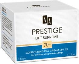 Духи, Парфюмерия, косметика Дневной крем для лица - AA Cosmetics Prestige Lift Supreme 70+ Contouring Day Cream SPF15
