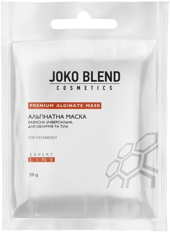 Альгинатная маска базисная универсальная для лица и тела - Joko Blend Premium Alginate Mask