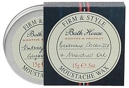 Духи, Парфюмерия, косметика Воск для бороды и усов - Bath House Menthol Snorwax