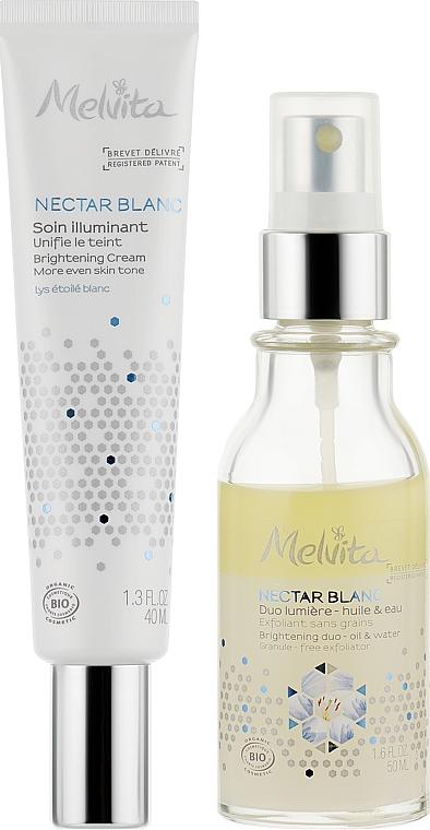 "Набор ""Сияние лица"" - Melvita Nectar Blanc (cr/40ml + serum/50ml)"