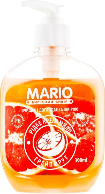 """Жидкое крем-мыло """"Грейпфрут"""" - Mario"""