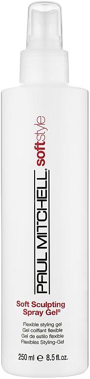 М'який скульптуруючий гель-спрей - Paul Mitchell Soft Style Soft Sculpting Spray Gel — фото N1