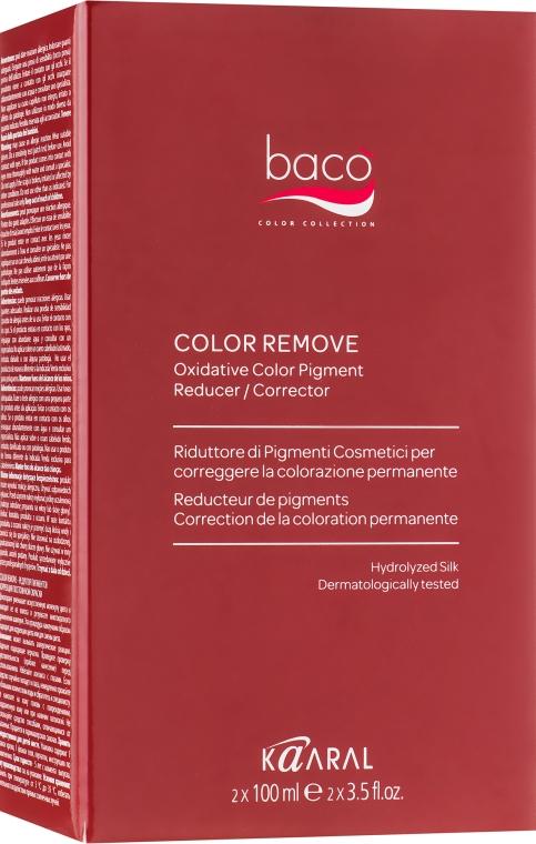 Смывка краски с волос - Kaaral Baco Colore Remove