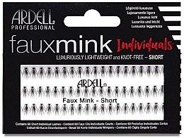 Духи, Парфюмерия, косметика Накладные ресницы - Ardell Faux Mink Individuals Knot Free-Short Black